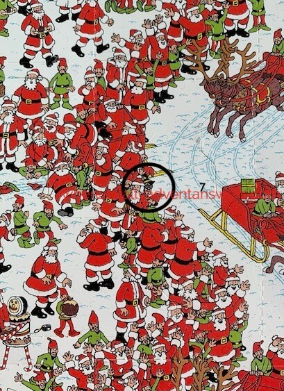 find Odlaw answer where's wally 2020 advent calendar day 7